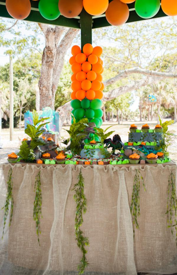 Jurassic Park Dinosaur Themed Birthday Party