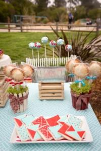 Vintage Barnyard + Kite Party via Kara's Party Ideas | KarasPartyIdeas.com #barnyard #kite #birthday #party (13)