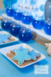 Under the Sea tween themed birthday party via Kara's Party Ideas | KarasPartyIdeas.com (8)