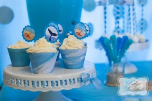 Under the Sea tween themed birthday party via Kara's Party Ideas | KarasPartyIdeas.com (6)