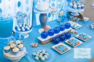 Under the Sea tween themed birthday party via Kara's Party Ideas | KarasPartyIdeas.com (3)
