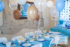 Under the Sea tween themed birthday party via Kara's Party Ideas | KarasPartyIdeas.com (13)