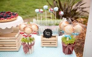 Vintage Barnyard + Kite Party via Kara's Party Ideas | KarasPartyIdeas.com #barnyard #kite #birthday #party (11)
