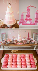 Pink Paris Themed Birthday Party via Kara's Party Ideas KarasPartyIdeas.com #pink #paris #birthday #party #ideas #cake