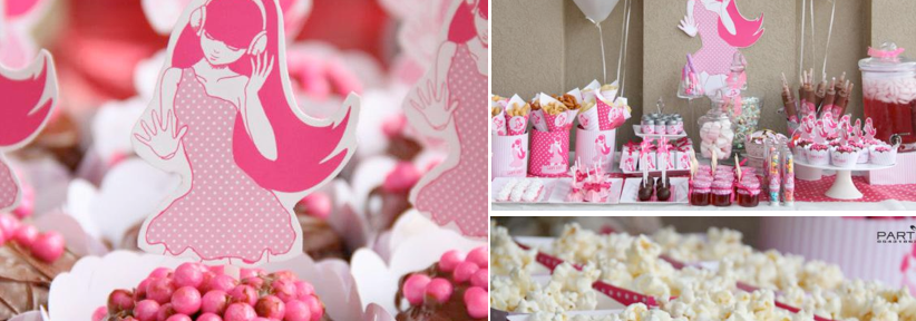 Pink Rock Star Birthday Party via Kara's Party Ideas | KarasPartyIdeas.com