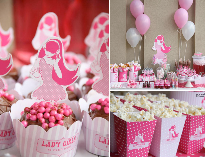 kara s party ideas pink girl tween 10th birthday party planning