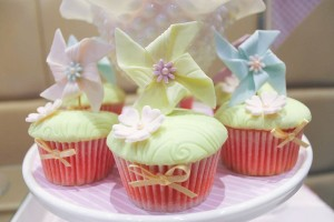 Pinwheel themed birthday party with tons of ideas! Via Kara's Party Ideas KarasPartyIdeas.com #pinwheel #party #girl #birthday #cookies #cake #cupcake #idea #supplies-11