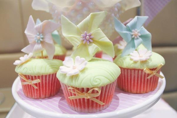 Karas Party Ideas Pinwheel Themed 1st Birthday Christening