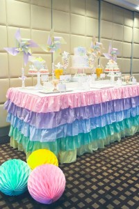 Pinwheel themed birthday party with tons of ideas! Via Kara's Party Ideas KarasPartyIdeas.com #pinwheel #party #girl #birthday #cookies #cake #cupcake #idea #supplies-16