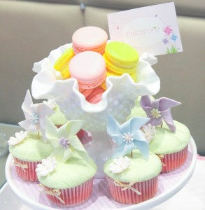Pinwheel themed birthday party with tons of ideas! Via Kara's Party Ideas KarasPartyIdeas.com #pinwheel #party #girl #birthday #cookies #cake #cupcake #idea #supplies-3