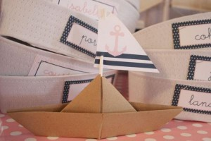 Sailor Girl Nautical Birthday Party via Kara's Party Ideas | KarasPartyIdeas.com #sailor #nautical #girl #navy #party #ideas (15)
