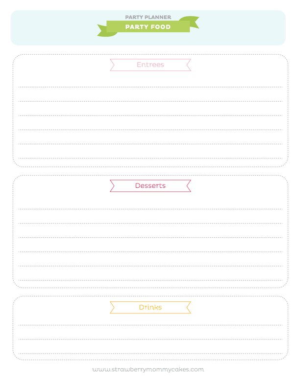 FREE printable PARTY PLANNER via Kara's Party Ideas! KarasPartyIdesa.com #free #printable #party #planner #ideas #download (7)