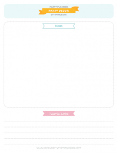 FREE printable PARTY PLANNER via Kara's Party Ideas! KarasPartyIdesa.com #free #printable #party #planner #ideas #download (5)