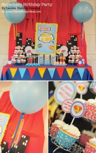 #Superhero #Birthday Party via Kara's #Party #Ideas KarasPartyIdeas.com