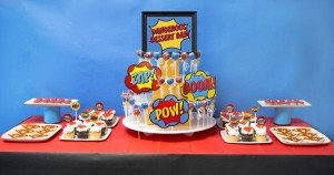 Superhero Staff Appreciation Week - Dessert Table