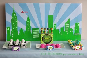 Teenage Mutant Ninja Turtle themed birthday party planning ideas via Kara's Party Ideas | KarasPartyIdeas.com #teenage #ninja #turtle #party #ideas #supplies #decorations #idea (9)