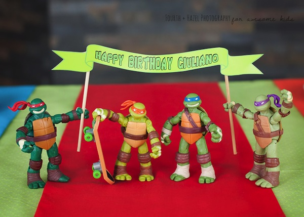 Teenage Mutant Ninja Turtle themed birthday party planning ideas via Kara's Party Ideas | KarasPartyIdeas.com #teenage #ninja #turtle #party #ideas #supplies #decorations #idea (11)