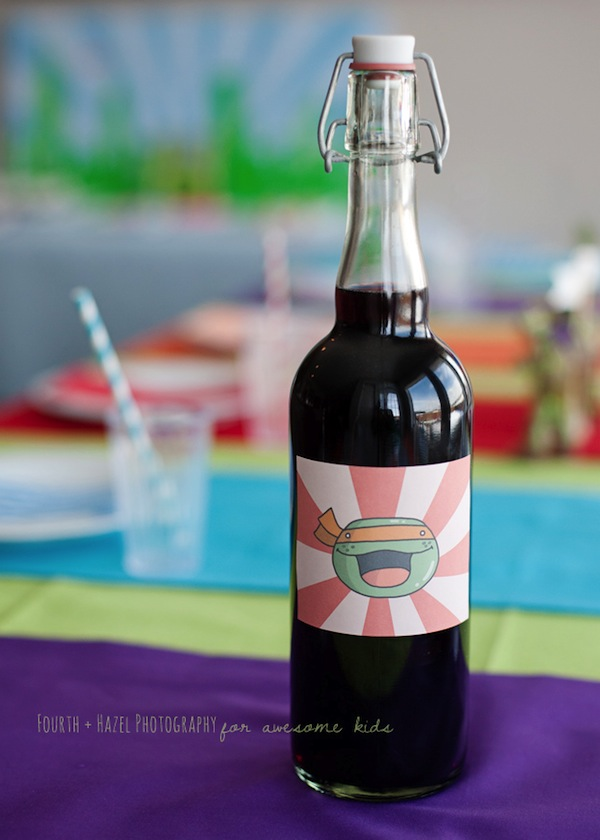 Teenage Mutant Ninja Turtle themed birthday party planning ideas via Kara's Party Ideas | KarasPartyIdeas.com #teenage #ninja #turtle #party #ideas #supplies #decorations #idea (10)