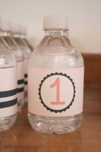 Sailor Girl Nautical Birthday Party via Kara's Party Ideas | KarasPartyIdeas.com #sailor #nautical #girl #navy #party #ideas (14)