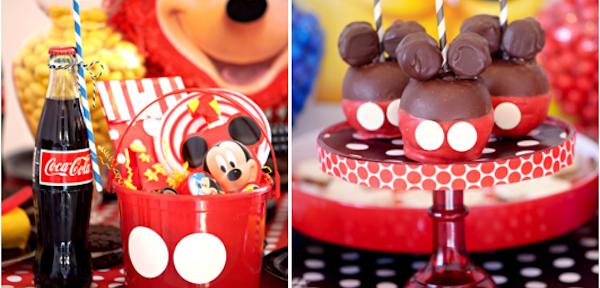 TONS of Mickey Mouse Party Ideas via Kara's Party Ideas KarasPartyIdeas.com #supplies #mickey #mouse #decorations #ideas #party #birthday #cake #favors
