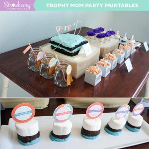 Trophy Mom Mother's Day Party via Kara's Party Ideas | KarasPartyIdeas.com #mothers day #trophy #mom #party #ideas (2)