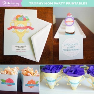 Trophy Mom Mother's Day Party via Kara's Party Ideas | KarasPartyIdeas.com #mothers day #trophy #mom #party #ideas (1)