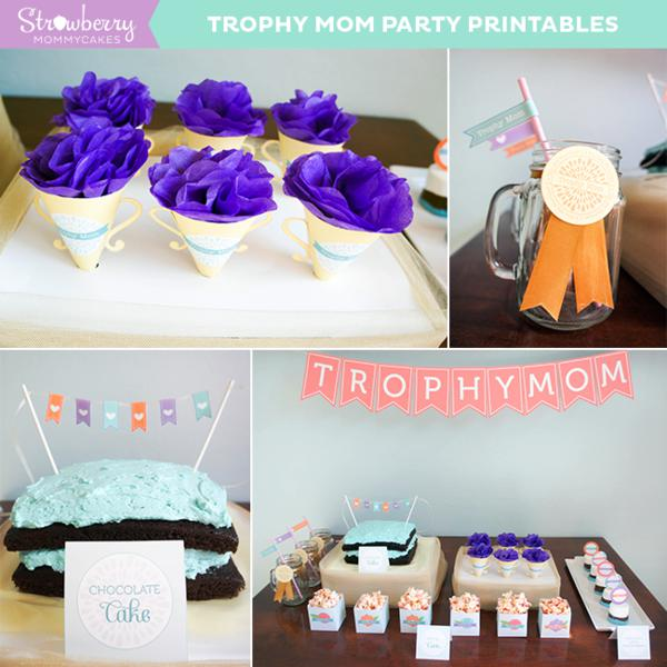 Trophy Mom Mother's Day Party via Kara's Party Ideas | KarasPartyIdeas.com #mothers day #trophy #mom #party #ideas (3)