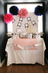 Sailor Girl Nautical Birthday Party via Kara's Party Ideas | KarasPartyIdeas.com #sailor #nautical #girl #navy #party #ideas (1)
