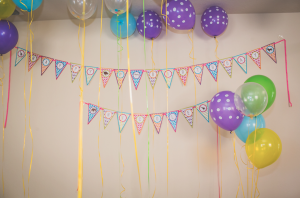 Mod Safari Wild Animal themed birthday party for a girl via Kara's Party Ideas | KarasPartyIdeas.com #modern #animal #wild #safari #jungle #mod #birthday #party #girl #ideas #cake #supplies #decoration #idea (36)