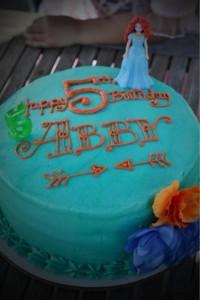 Brave themed birthday party via Kara's Party Ideas   KarasPartyIdeas.com #brave #disney #movie #themed #party #ideas #decorations #idea #cake #cupcakes #favors #girl #supplies (10)