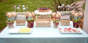 Vintage Barnyard + Kite Party via Kara's Party Ideas | KarasPartyIdeas.com #barnyard #kite #birthday #party (25)