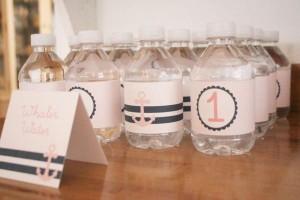 Sailor Girl Nautical Birthday Party via Kara's Party Ideas | KarasPartyIdeas.com #sailor #nautical #girl #navy #party #ideas (32)