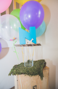 Mod Safari Wild Animal themed birthday party for a girl via Kara's Party Ideas | KarasPartyIdeas.com #modern #animal #wild #safari #jungle #mod #birthday #party #girl #ideas #cake #supplies #decoration #idea (21)