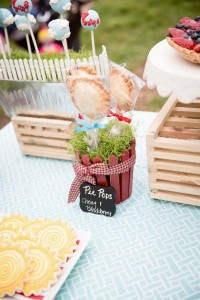 Vintage Barnyard + Kite Party via Kara's Party Ideas | KarasPartyIdeas.com #barnyard #kite #birthday #party (17)
