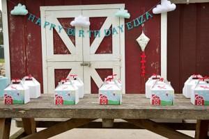 Vintage Barnyard + Kite Party via Kara's Party Ideas | KarasPartyIdeas.com #barnyard #kite #birthday #party (15)
