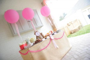 Pink pony themed birthday party via Kara's Party Ideas KarasPartyIdeas.com #pony #horse #birthday #party (16)