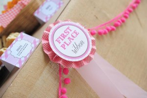 Pink pony themed birthday party via Kara's Party Ideas KarasPartyIdeas.com #pony #horse #birthday #party (15)