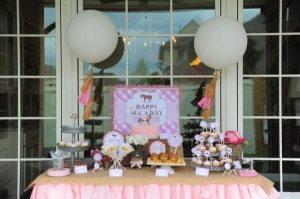 Pink pony themed birthday party via Kara's Party Ideas KarasPartyIdeas.com #pony #horse #birthday #party (13)