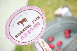 Pink pony themed birthday party via Kara's Party Ideas KarasPartyIdeas.com #pony #horse #birthday #party (12)