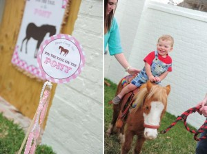 Pink pony themed birthday party via Kara's Party Ideas KarasPartyIdeas.com #pony #horse #birthday #party (4)