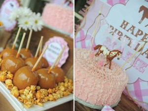 Pink pony themed birthday party via Kara's Party Ideas KarasPartyIdeas.com #pony #horse #birthday #party (6)