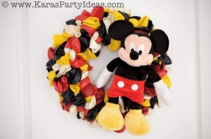 Mickey Mouse Birthday Party via Kara's Party Ideas | KarasPartyIdeas.com #mickey #mouse #cake #favor #decorations #supplies #birthday #party #ideas (27)