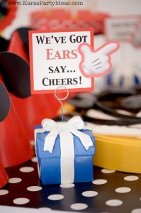 Mickey Mouse Birthday Party via Kara's Party Ideas | KarasPartyIdeas.com #mickey #mouse #cake #favor #decorations #supplies #birthday #party #ideas (23)