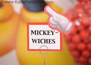 Mickey Mouse Birthday Party via Kara's Party Ideas | KarasPartyIdeas.com #mickey #mouse #cake #favor #decorations #supplies #birthday #party #ideas (22)