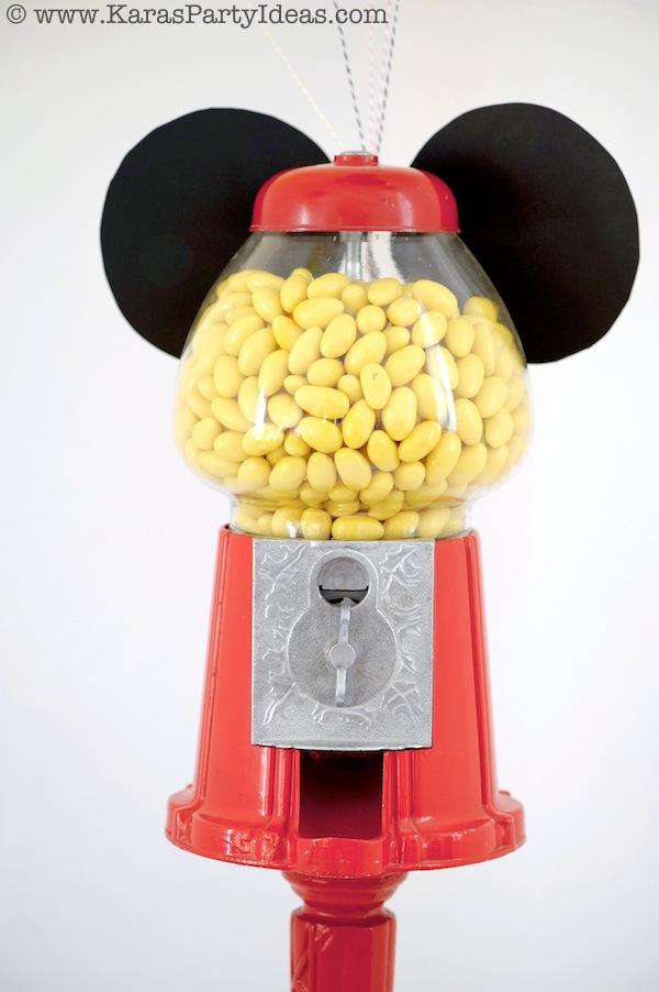 Mickey Mouse Birthday Party via Kara's Party Ideas | KarasPartyIdeas.com #mickey #mouse #cake #favor #decorations #supplies #birthday #party #ideas (17)