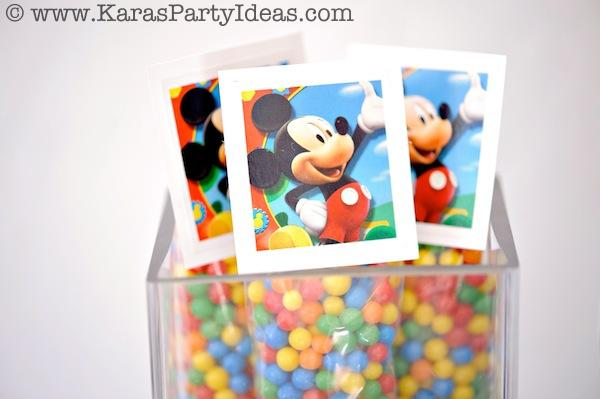 Mickey Mouse Birthday Party via Kara's Party Ideas | KarasPartyIdeas.com #mickey #mouse #cake #favor #decorations #supplies #birthday #party #ideas (15)