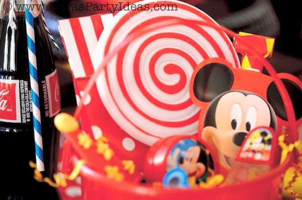 Mickey Mouse Birthday Party via Kara's Party Ideas | KarasPartyIdeas.com #mickey #mouse #cake #favor #decorations #supplies #birthday #party #ideas (6)