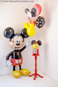 Mickey Mouse Birthday Party via Kara's Party Ideas | KarasPartyIdeas.com #mickey #mouse #cake #favor #decorations #supplies #birthday #party #ideas (2)