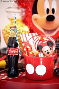 Mickey Mouse Birthday Party Decorations Supplies Ideas via Kara's Party Ideas KarasPartyIdeas.com