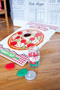 Pizzeria Little Chef themed pizza party via Kara's Birthday Party Ideas KarasPartyIdeas.com #little #chef #pizza #pizzeria #themed #boy #party #ideas #cake #idea #printables #supplies #decorations #kids #activities #favors (2)